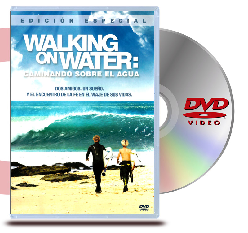 DVD Caminando sobre el agua