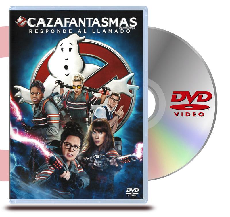 DVD Cazafantasmas 2016