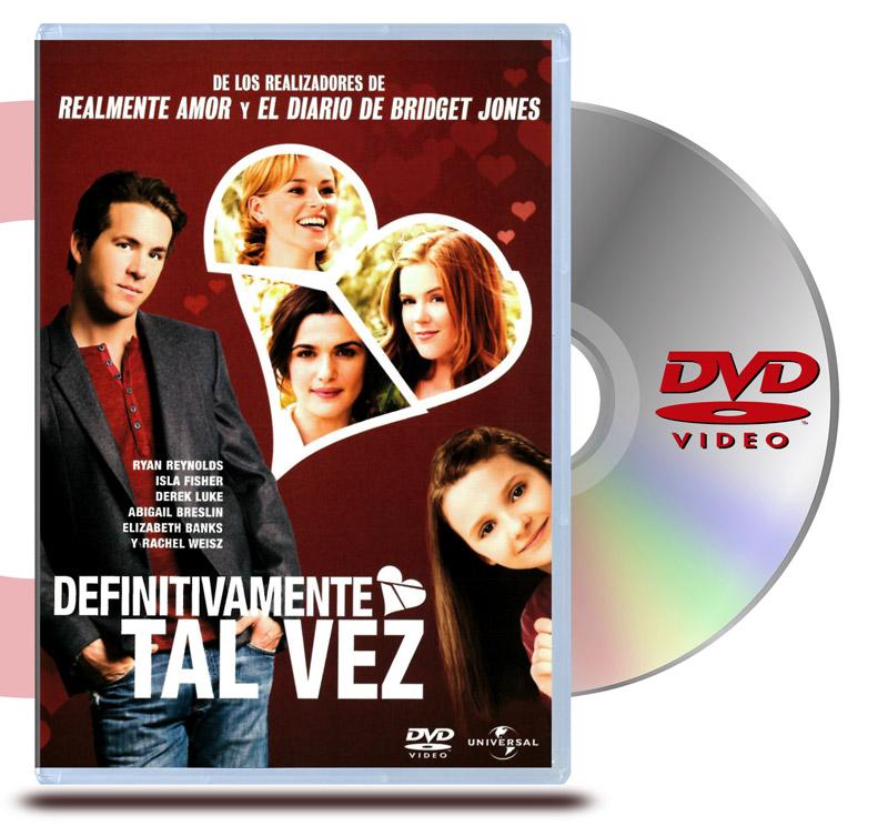 DVD Definitivamente Quizás