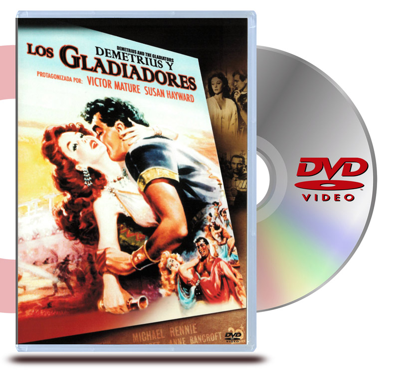 DVD Demetrius y los Gladiadores