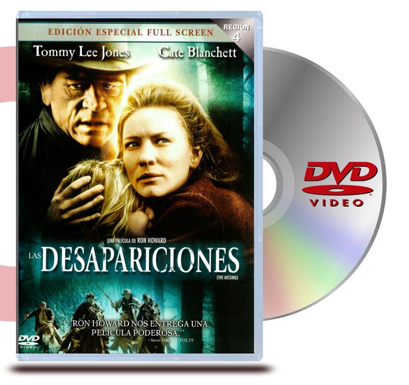 DVD Desaparaciones