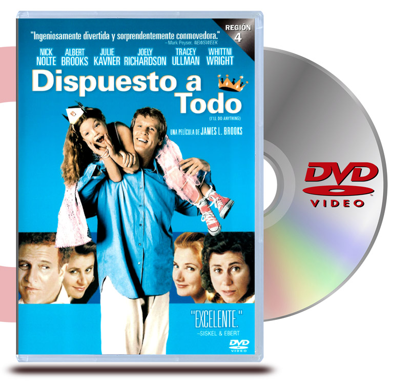 DVD Dispuesto a todo