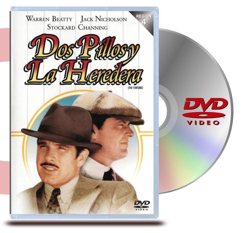 DVD Dos Pillos y la Heredera