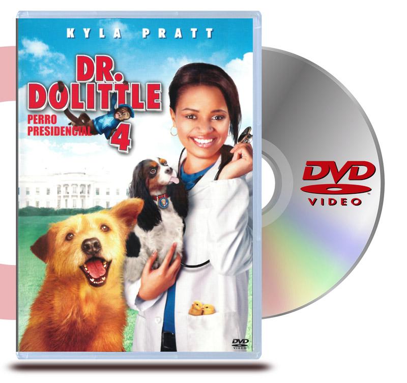 DVD Dr. Dolittle 4 Perro Presicencial