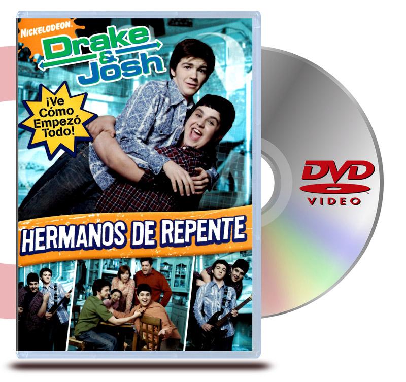 DVD Drake y Josh : Hermanos de repente