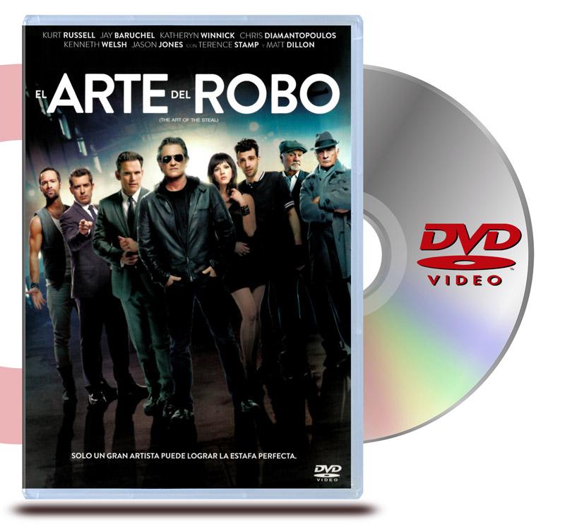 DVD El arte del robo