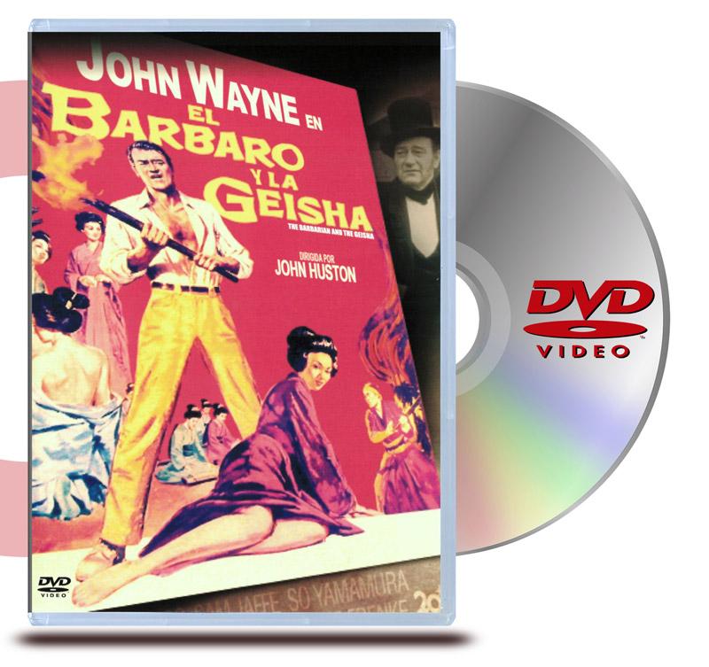 DVD El Barbaro y La Geisha