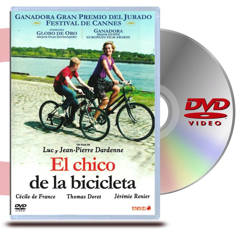 DVD El Chico de la Bicicleta