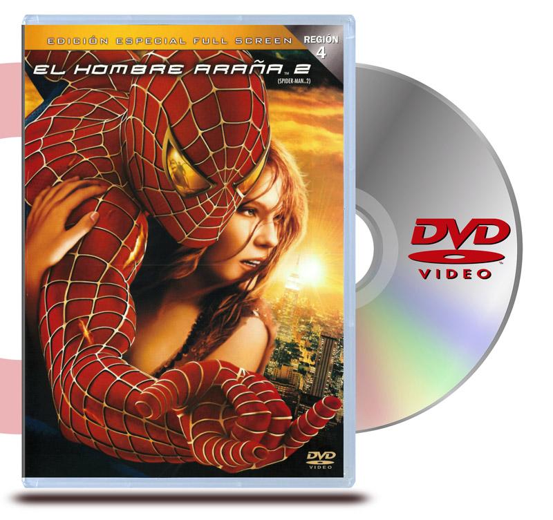 DVD El Hombre Araña 2: (1 Disco)