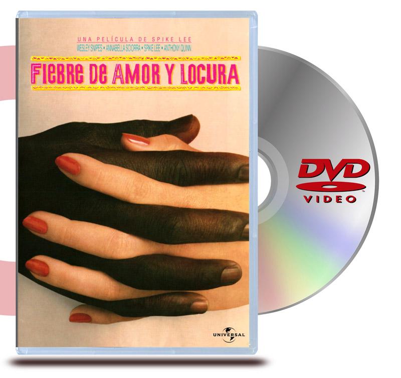 DVD Fiebre de Amor y Locura
