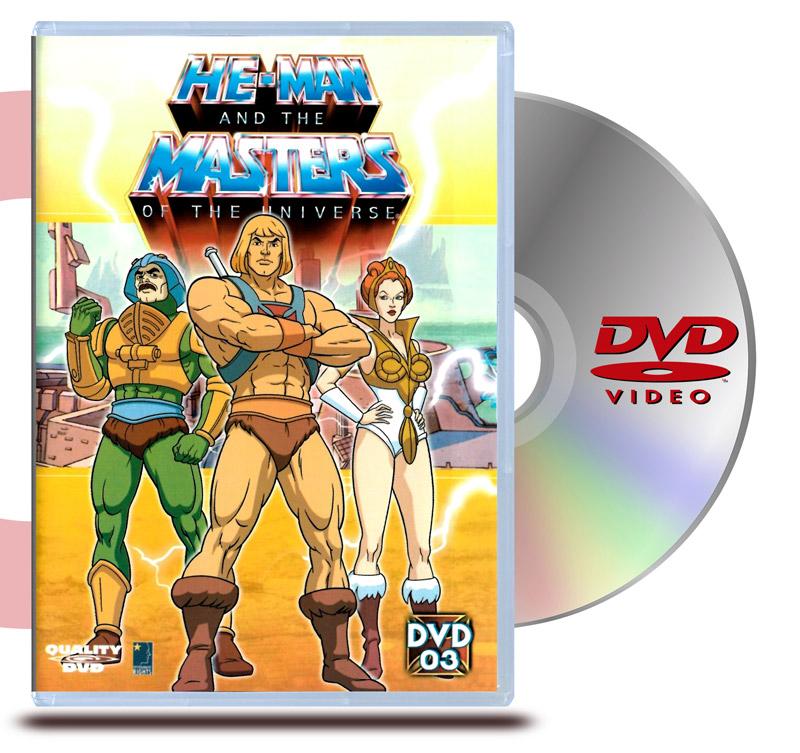 DVD He- Man 3