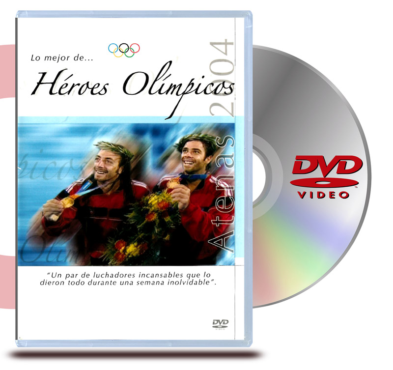 DVD Héroes Olimpicos