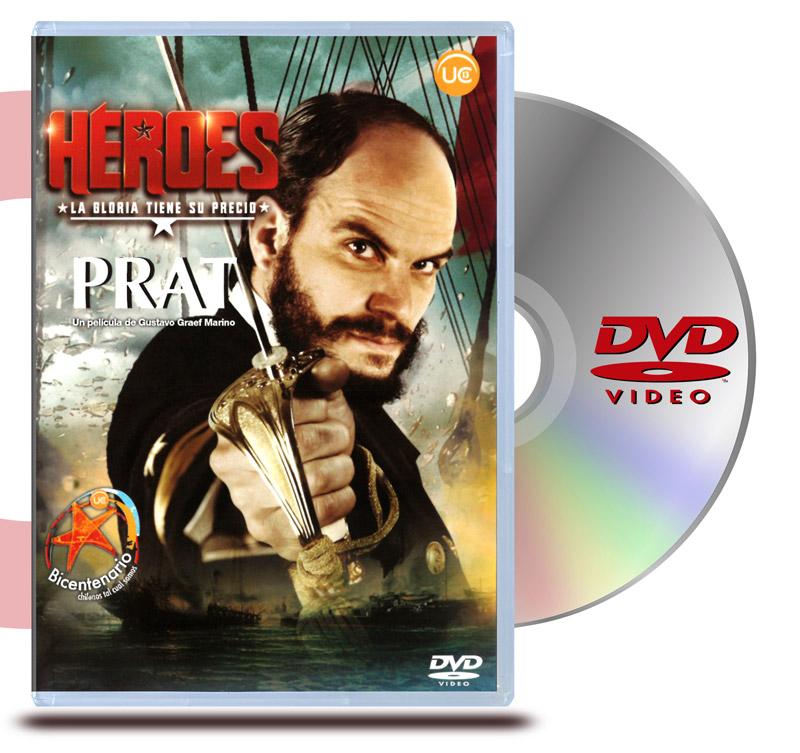 DVD Héroes: Prat
