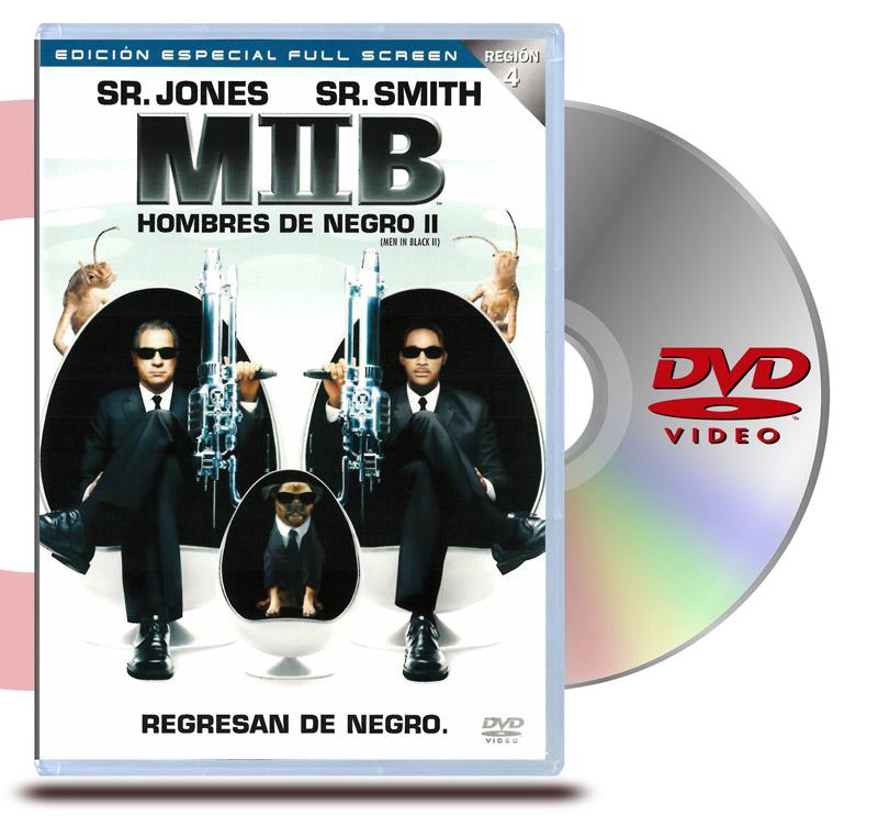DVD Hombres de Negro 2 duplo
