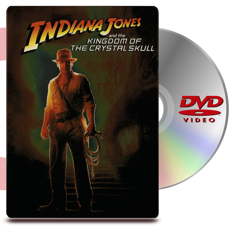 DVD Indiana Jones 4: Estuche Metalico - 2 Discos