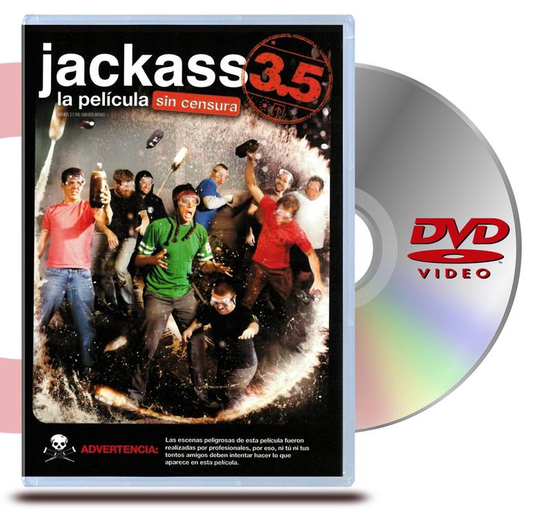DVD Jackass 3.5: La Película (Sin Censura)