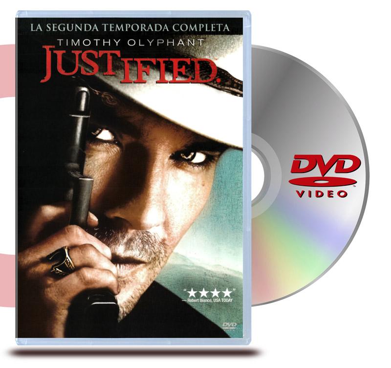 DVD Justified: Temporada 2