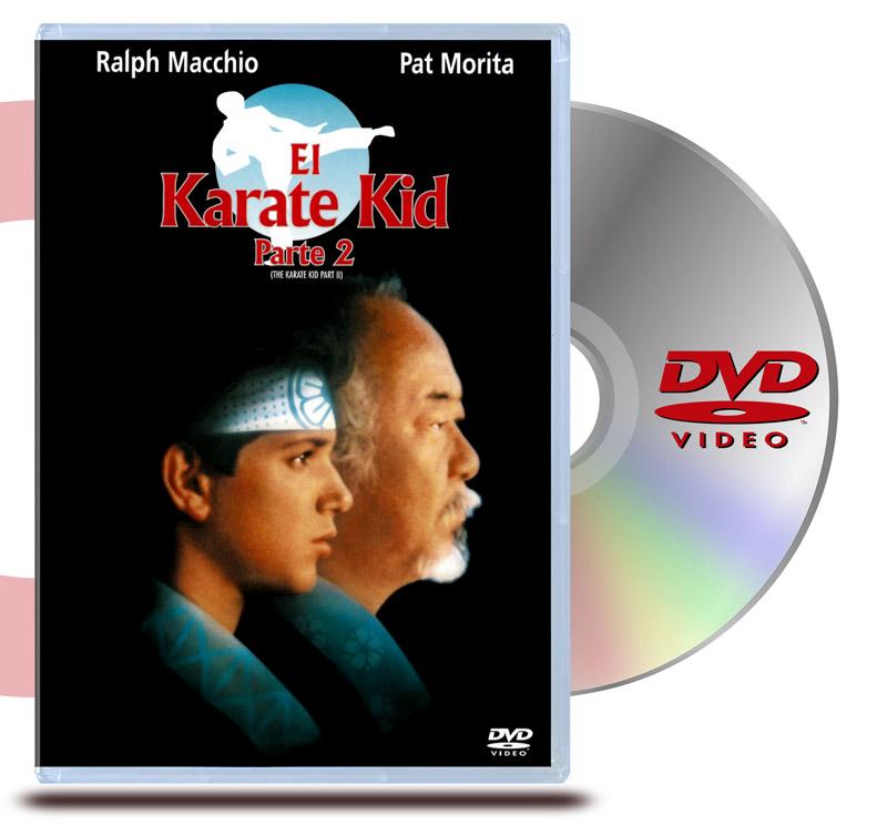 DVD El Karate Kid 2