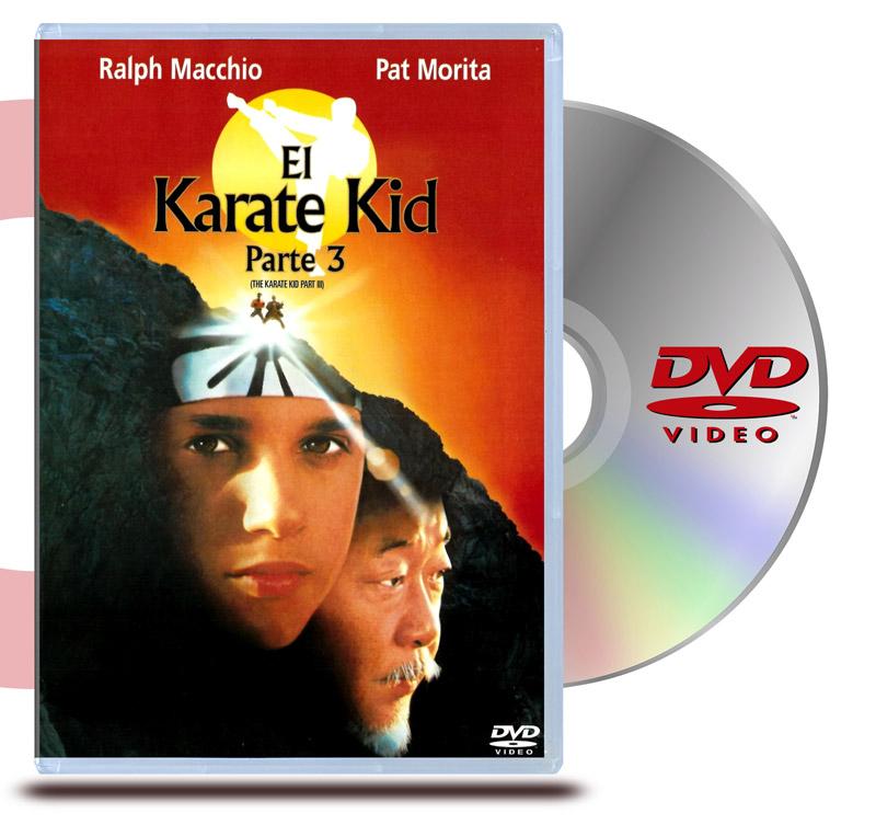 DVD Karate Kid 3