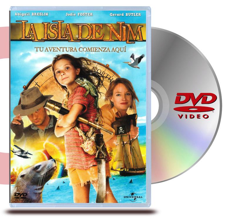 DVD La Isla de Nim
