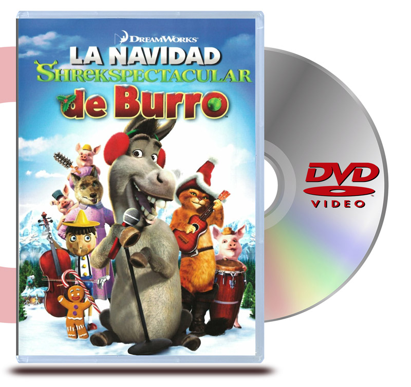 DVD La Navidad Espectacular de Burro