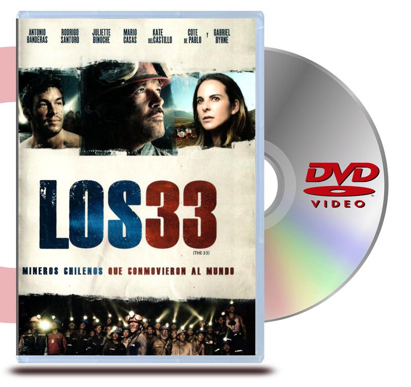 DVD Los 33