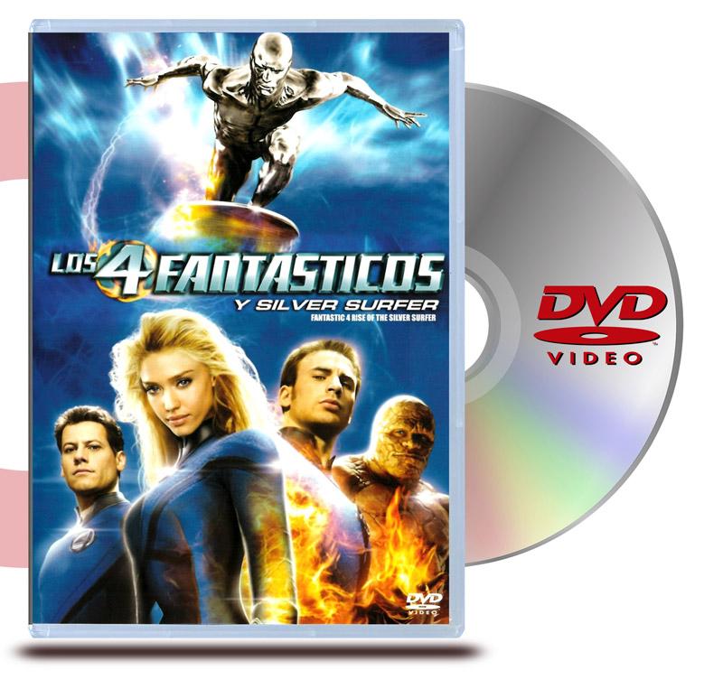 DVD Los Cuatro Fantásticos 2