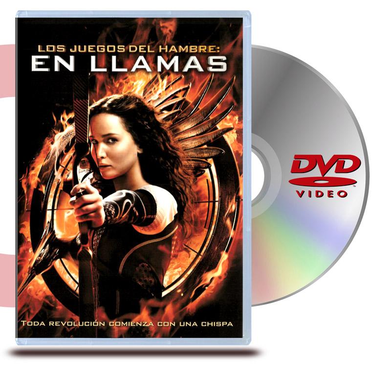 DVD Los Juegos del Hambre 2: En Llamas