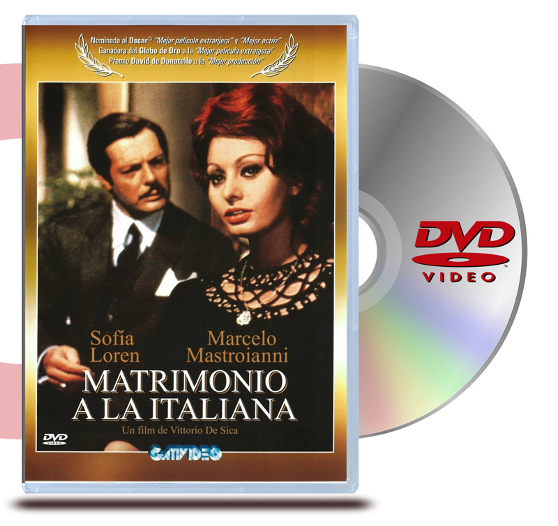 DVD Matrimonio a la Italiana