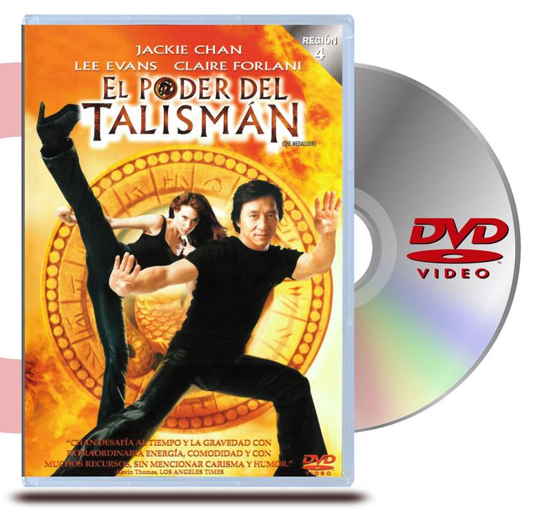 DVD Medallion : El Poder del Talismán