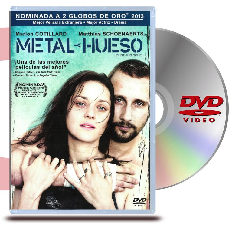DVD Metal y Huesos