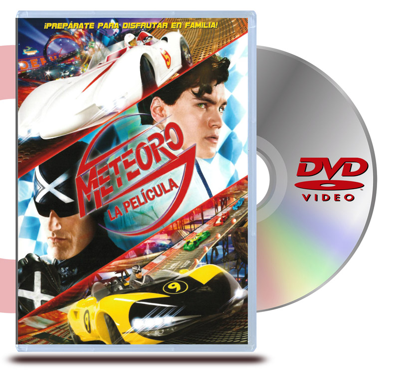 DVD Meteoro: La Película