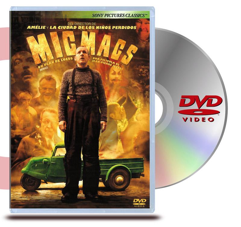 DVD Micmacs: Un Plan de Locos