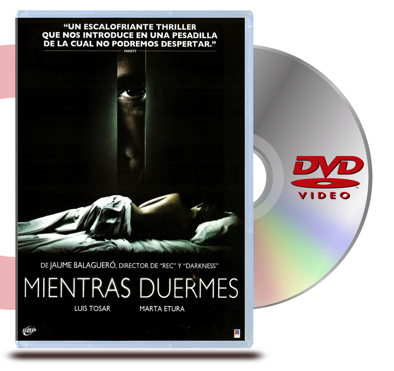 DVD Mientras Duermes