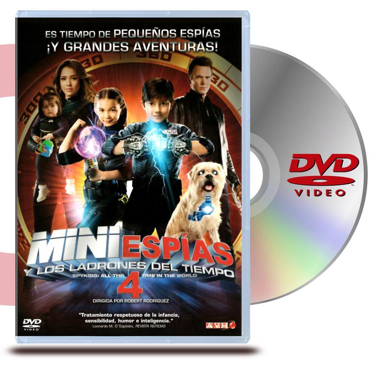 DVD Mini Espias 4: Y Los Ladrones del Tiempo