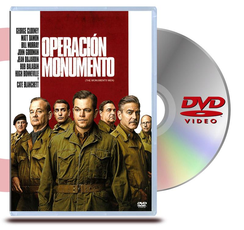DVD Operación Monumento