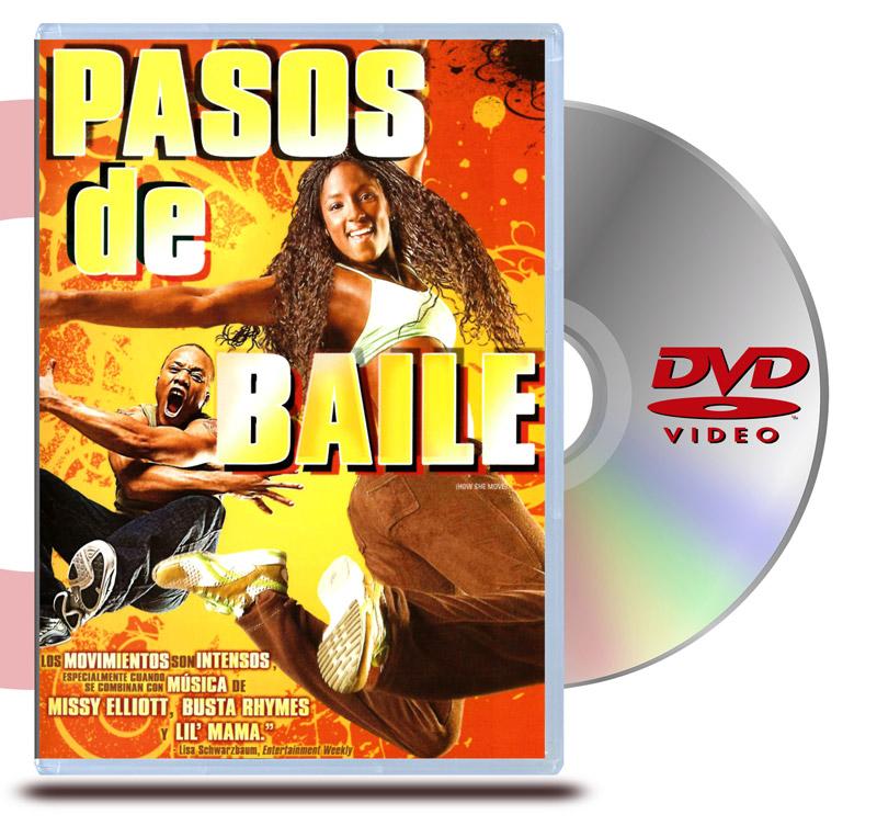 DVD Pasos de Baile