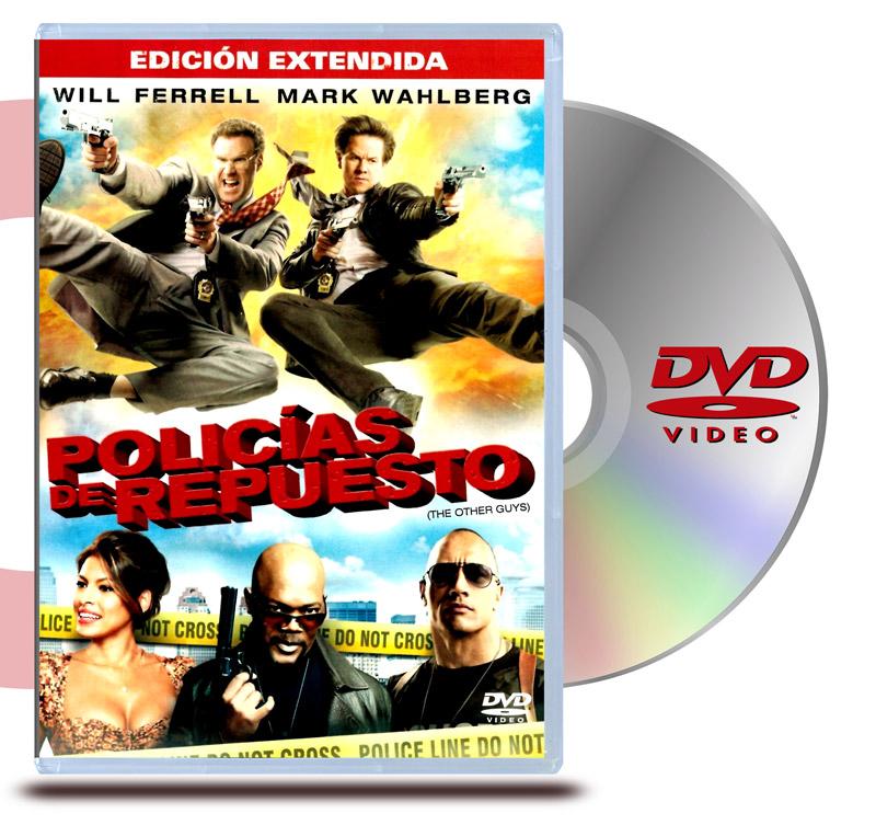 DVD Policias de Repuesto