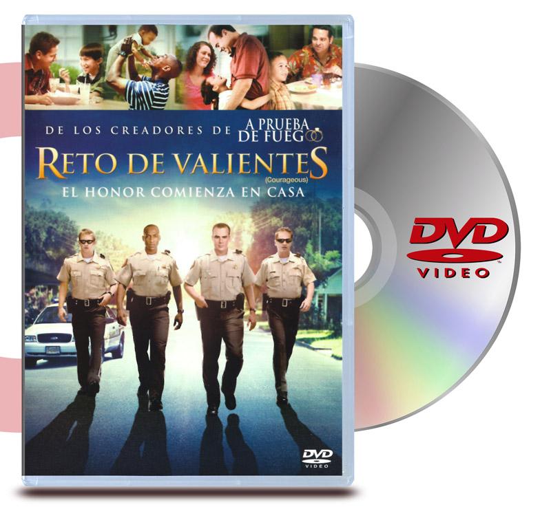 DVD Reto de Valientes