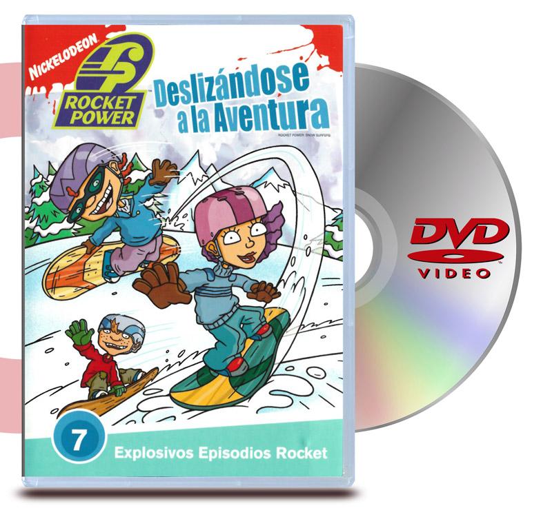 DVD Rocket Power. Deslizandose a la Aventura
