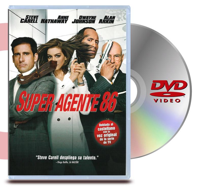 DVD Super Agente 86: La Película