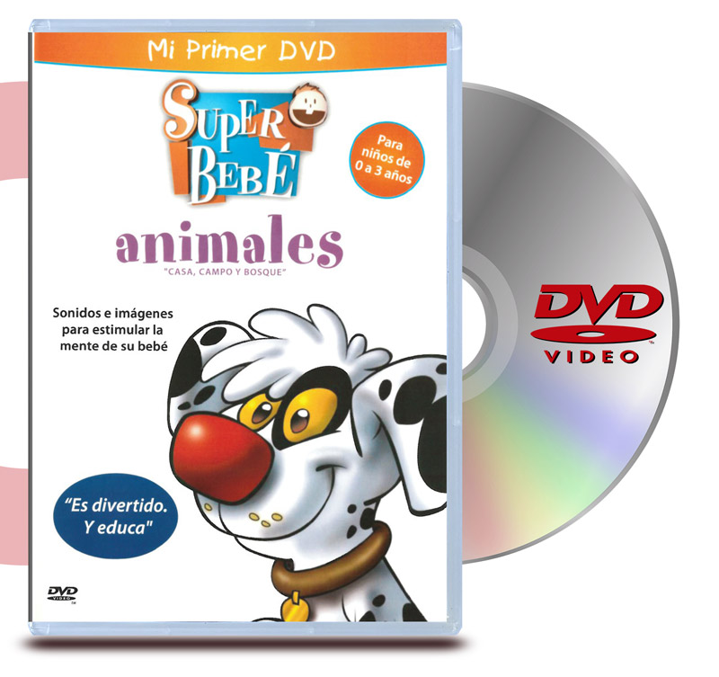 DVD Super Bebe : Animales