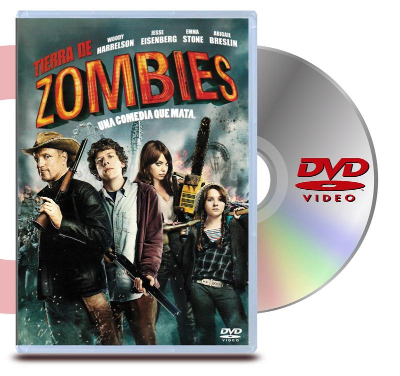 DVD Tierra de Zombies