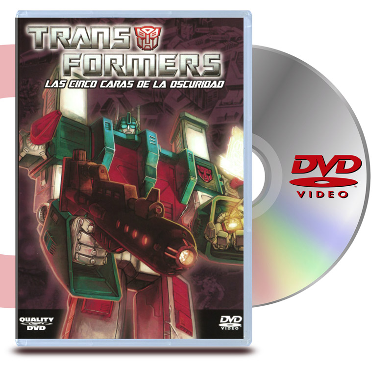 DVD Transformers Las cinco caras de la oscuridad