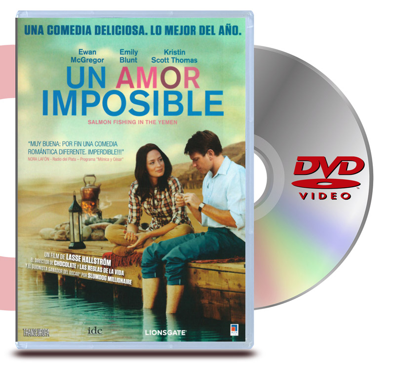 DVD Un Amor Imposible