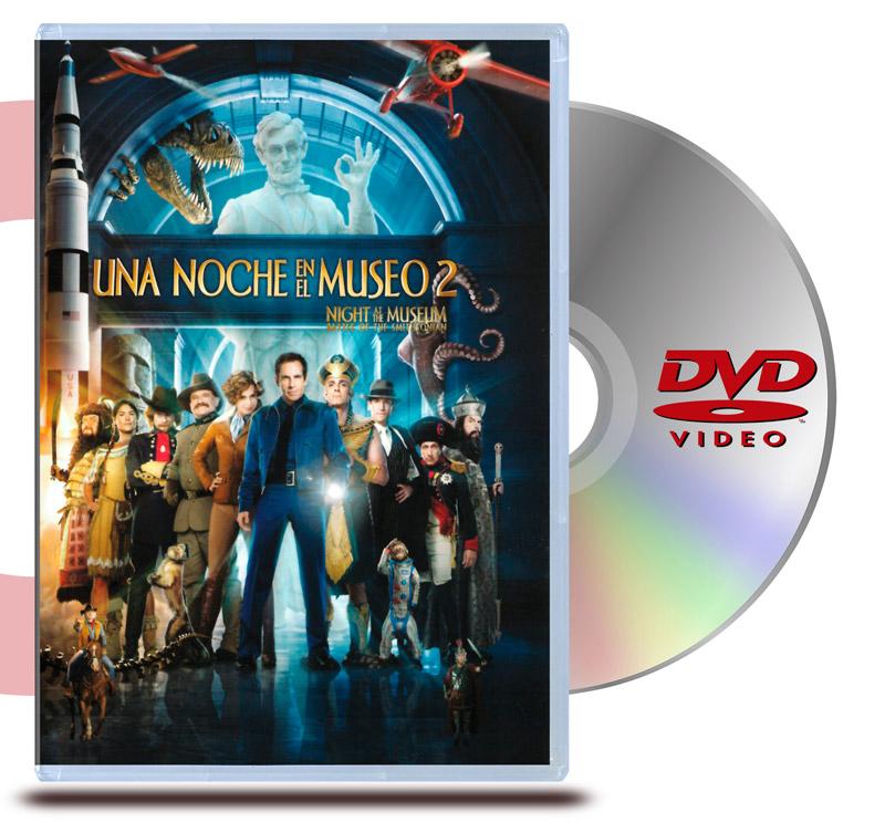 DVD Una Noche el el Museo 2