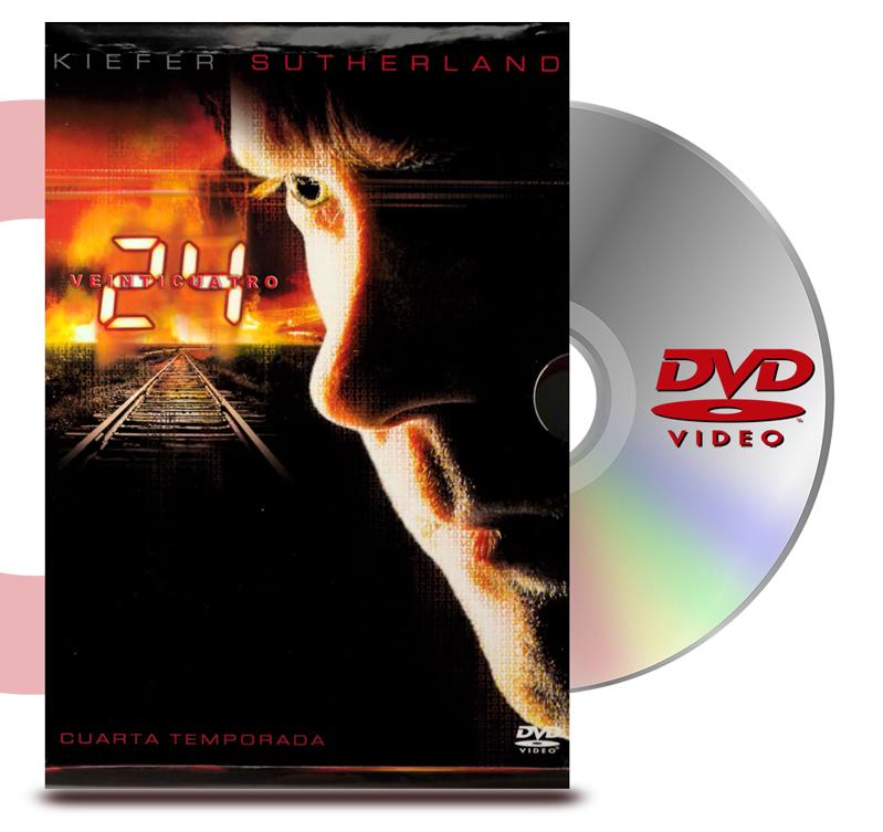DVD 24 Horas Temporada 4