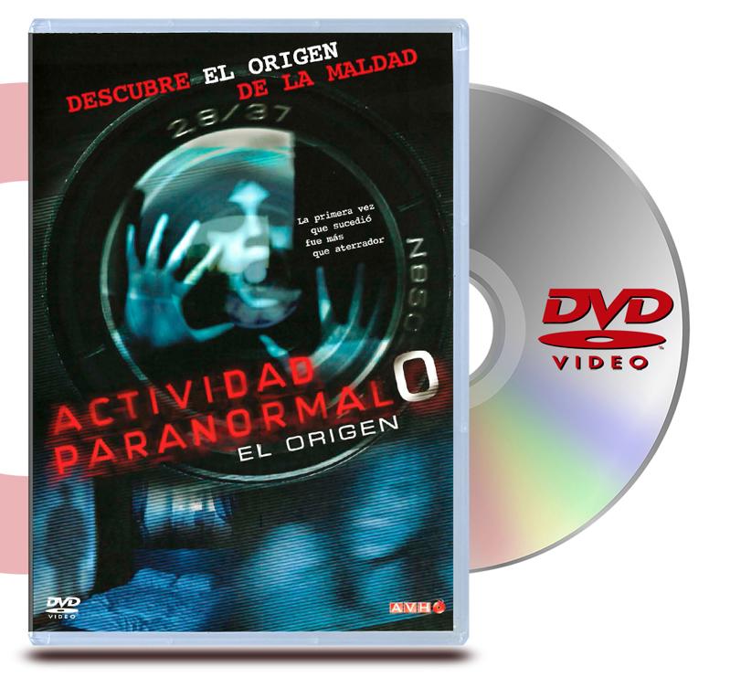 DVD Actividad Paranormal 0: El Origen