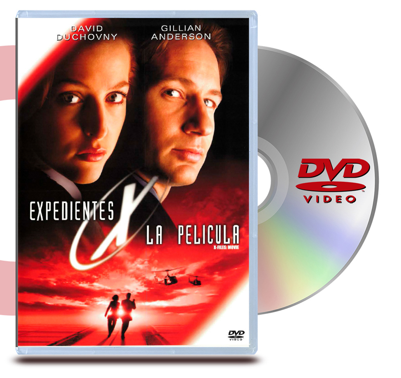 DVD Archivos Secretos X: La Pelicula