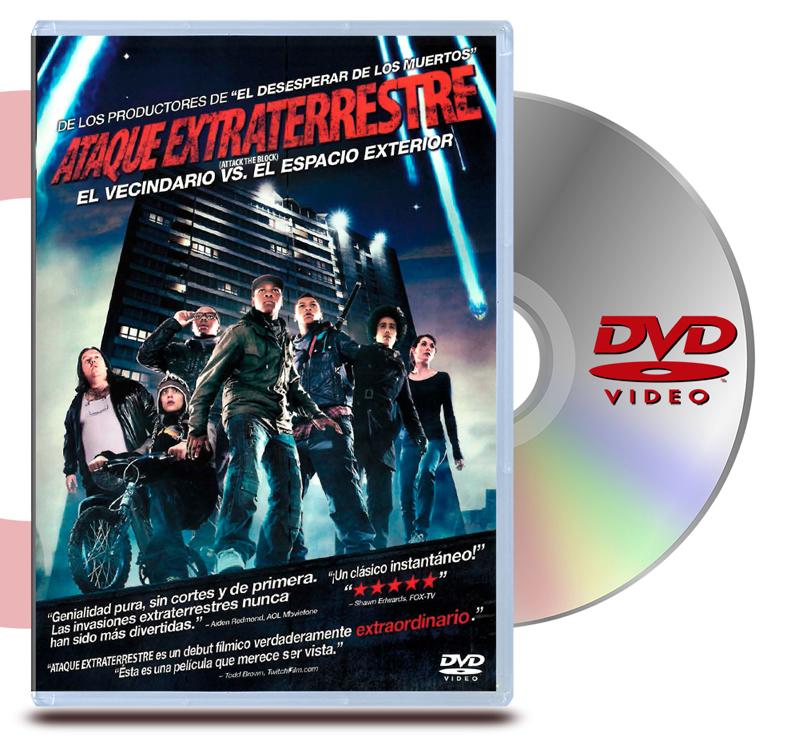 DVD Ataque Extraterrestre